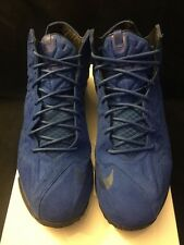 Nike Lebron 11 EXT Suede Pre Owned 100% Authentic Size 11.5