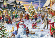 Gibsons - 500 PIECE JIGSAW PUZZLE - A White Christmas