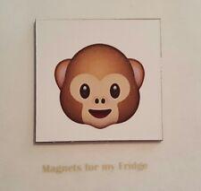 ANIMATED SMILEY MONKEY EMJOI FRIDGE MAGNET - M322