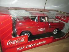 1955 chevy cameo  CHEVY COCA-COLA coke  JL JOHNNY LIGHTNING 1:18 pickup truck