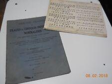 TRACÉS ET CROQUIS INDUSTRIELS NORMALISÉS 24 PLANCHES 1935 + 16 DESSINS D' ÉLÈVE
