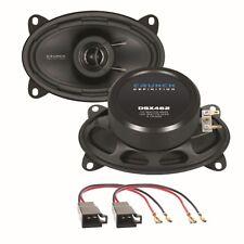 CRUNCH DSX462 10x15 cm 2 Wege Lautsprecher hinten für Polo 86C Golf 2