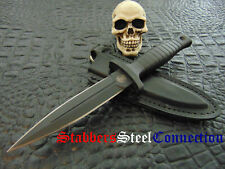 Smith & Wesson HRT Dagger with Original Leather Sheath Great inexpensive Piece !