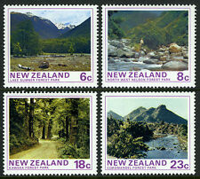 New Zealand 577-580, MNH. State Forest Parks.Lake Sumner,North West Nelson,1975