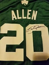 Ray Allen #20 Boston Celtics Signed Replica Jersey w/Proof Size Large Authentic