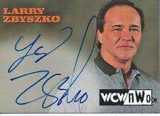 1999 Topps Nitro WCW/NWO Larry Zbyszko Autograph Card