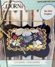 ADORNit Charming Pin Cushion No Sew Project All Supplies Included Beginner