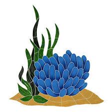 Anemone Reef Accent Ceramic Swimming Pool Mosaic