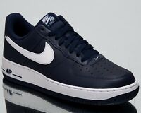 Nike Air Force 1 Low New Men's Lifestyle Shoes Midnight Navy White 488298-436