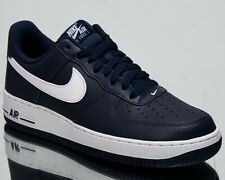 d81d634a62d Nike Air Force 1 Low New Men s Lifestyle Shoes Midnight Navy White  488298-436
