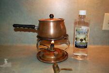 Carnella German Copper 7 pcs Cooking Chafing Dish Fondue Pot oil & wick design