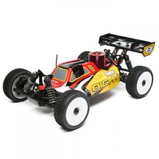 Losi 1/8 8IGHT 4WD Buggy Nitro RTR  Red/Yellow LOS04010
