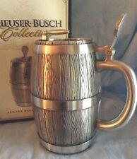 Anheuser-Busch Barrel Stein  Pewter 205 of edition limit 5000  CS495   $183.99