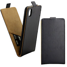 PU Leather Case Black Slim Women Men Phone Cover For Huawei Y5 2019 Honor 8S