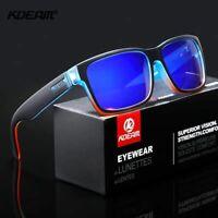 Occhiali da Sole Polarizzati, Kdeam HD blu, Protezione UV 400, per uomo e donne