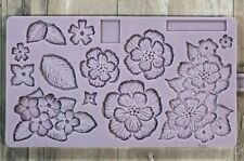 Karen Davies Brush Embroidery Sugarcraft Mould   FAST DESPATCH