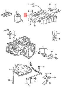 Genuine Volkswagen Control Unit For 4-Speed Automatic Gearbox NOS 098927731AH