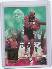 1993-94 Fleer Ultra #10 Rebound King Dennis Rodman Insert Free Shipping READ!!