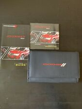2012 12 DODGE JOURNEY USER GUIDE OWNERS MANUALS With DVD 232