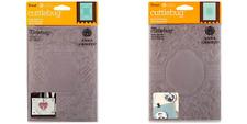 "Cricut Cuttlebug Anna Griffin 5"" X 7"" BAROQUE VINE & CALLIGRAPHY FRAME folders"