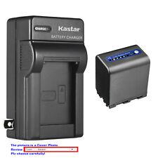 Kastar Battery AC Wall Charger for Sony NP-QM91D & Sony DCR-TRV240 DCR-TRV250