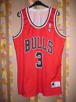 NBA CHICAGO BULLS VINTAGE BASKETBALL SHIRT JERSEY CHAMPION #3 TYSON CHANDLER
