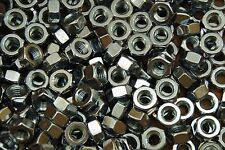 (250) Heavy Hex Nuts 3/8-16 Zinc Plated Coarse Thread A563