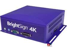NEW BrightSign Networked 4K Media Player 4K1042-WW H.265  60FPS Ethernet 10/100