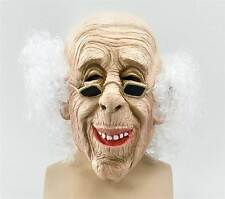 Old Man Mask & Hair,  HALLOWEEN EYE MASK, FANCY DRESS #AU