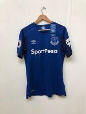 Umbro Women's Everton FC 2017/18 Home Shirt - 14 - Blue - New