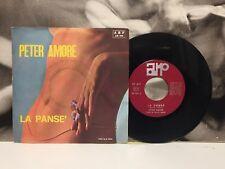 "PETER AMORE - LA PANSE' / BUTTA LA CHIAVE ( VAN WOOD ) 7"" 45 GIRI EX- 1975 ARP"