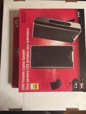 Cyber Acoustics USB Audio Portable Speaker System CA-2908