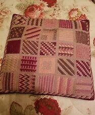 vintage needle point pillow