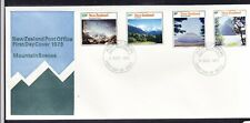 New Zealand 1973 Mountain Scenes First Day Cover