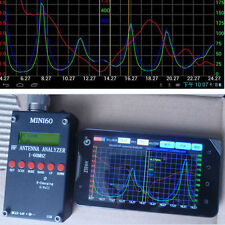 2016 Mini60 Sark100 HF ANT SWR Antenna Analyzer Meter Bluetooth Android APP