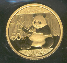 Chine 50 Yuan 2017 OSO PANDA 3 Grammes Or 24 Kl. @@ EXCELLENT @@