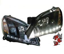 SCHEINWERFER OPEL ASTRA H 04-09 SCHWARZ TAGFAHRLICHT-OPTIK GTC CARAVAN LIMO VAN