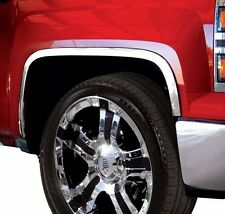 Chrome Stainless Steel Fender Trims 14-15 Chevy Silverado 1500