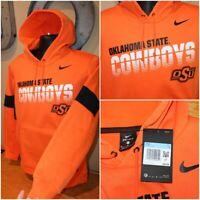NWT $80 Mens NIKE OKLAHOMA STATE COWBOYS OSU Hoodie Pullover : Size M AR9032-820