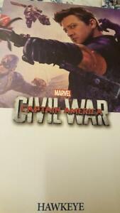Hot Toys Hawkeye Civil War