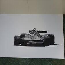 Gilles Vileneuve, Ferrari Formula 1, 655 of 1000, 1981, unframed