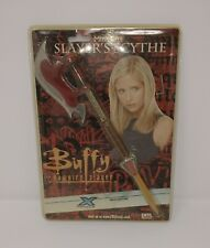 More details for buffy the vampire slayer scythe factory x bnip prop culture replica 2007 vintage