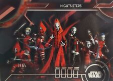 2018 Star Wars Galactic Files SS-8 Nightsisters Trading Card SINISTER SYNDICATES
