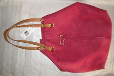 UGG Bag Jane Tote Shearling Crimson NEW $295
