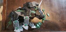 Dibison #031 Tomy Hasbro Zoids Vintage Green Bison Bull Robot not complete