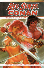 Us cómic Red Sonja Conan Blood of a god HC Dark Horse inglés