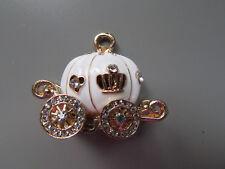 XL Weiß Prinzessin Beförderung Cinderella Charm Zubehör/Jewellerymaking/