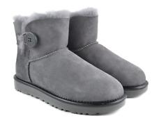 UGG Mini Bailey Button II Metallic Geyser Boot Women's sizes 6-9 NEW!!