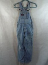VINTAGE DENIM DUNGAREES JUNIOR OVERSIZED YOUTH OVERALLS SIZE 8 W26-W28 L26 SMALL