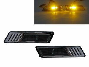3-Series E36 MK3 1991-1996 2D/4D/5D LED Z3Look Side Marker Light Smoke for BMW